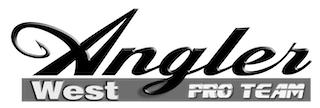 AnglerWest logo ProTeam B&W